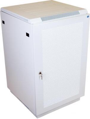 Шкаф напольный 18U ЦМО ШТК-М-18.6.6-4ААА 600x600mm дверь перфорированная белый