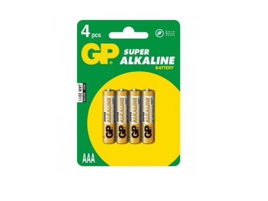 Батарейки GP Super Alkaline 24ACR4-UE4 AAA 4 шт