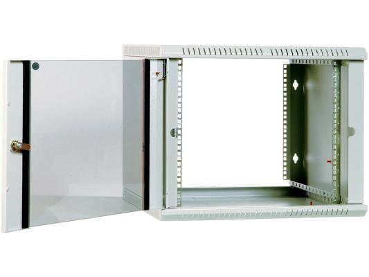 Шкаф настенный разборный 6U ЦМО ШРН-Э-6.350 600х350mm дверь стекло