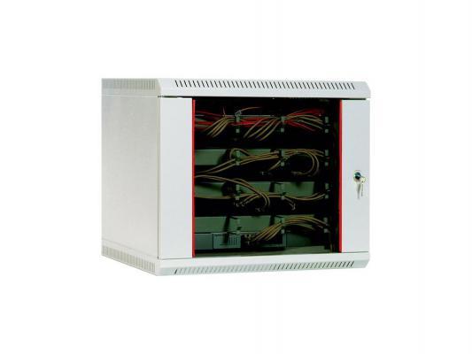 Шкаф настенный 12U ЦМО ШРН 12.650 600x650 дверь стекло