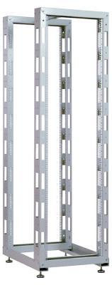 Стойка телекоммуникационная универсальная двухрамная 42U ЦМО СТК-42.2 цена и фото