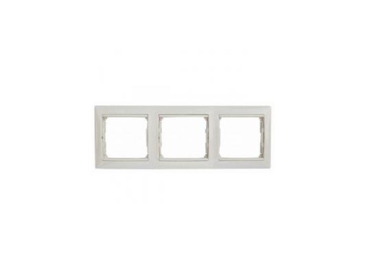Рамка Legrand Valena трехместная белая 774453 от 123.ru