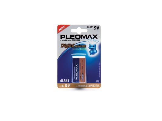 Батарейка Samsung Pleomax 6LR61-1BL 6LR61 1 шт батарейки samsung pleomax lr6 aa 10 шт
