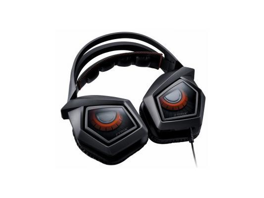 Гарнитура Asus Strix Pro черный/оранжевый 90YH00B1-M8UA00 цена и фото