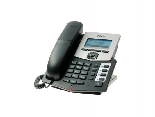 Телефон IP Fanvil C58P 2 линии 2x10/100Mbps LCD PoE