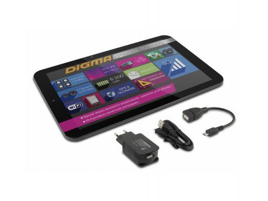 "Планшет Digma Platina 10.2 NS1002QL 4G 16Gb 10.1"" 1280x800 MSM8928 1Gb 3G 4G WiFi BT Android черно-серый 890871"