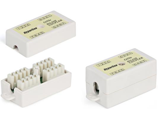 Проходной адаптер Hyperline 110&Krone кат.5е 4 пары CA-IDC-C5e-WH 100 pcs 2 54mm pitch double rows computer pcb idc pin headers 20 pins free shipping