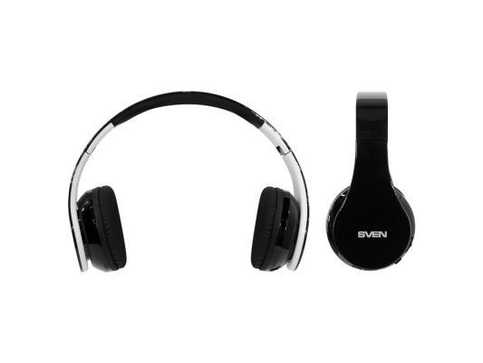 Bluetooth-гарнитура Sven AP-B450MV черный белый стоимость