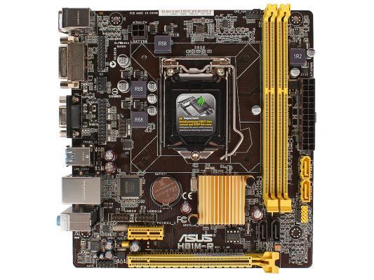 Материнская плата ASUS H81M-R/C/SI S1150 Intel H81 2xDDR3 1xPCI-E 16x mATX Retail