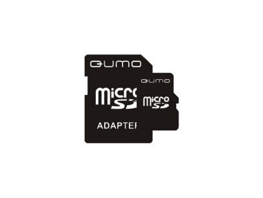 Карта памяти Micro SDHC 16Gb class 4 QUMO QM16GMICSDHC4 qumo sdhc 32 gb class 6