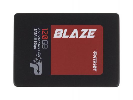 """Твердотельный накопитель 2.5"""" 120GB Patriot Read 545Mb/s Write 430mb/s SATA III PB120GS25SSDR"""