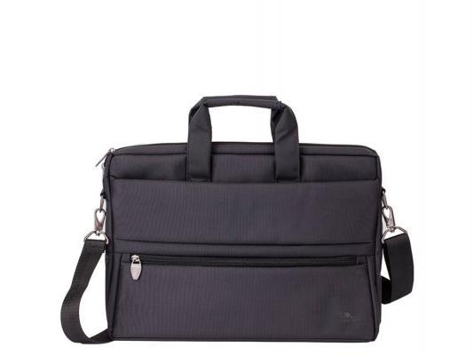 Сумка для ноутбука 15 Riva 8630 полиэстер черный сумка для ноутбука 10 riva 8010 полиэстер черный