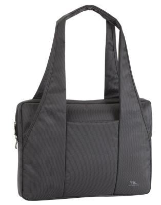 Сумка для ноутбука 15 Riva 8291 полиэстер черный сумка для ноутбука 10 riva 8010 полиэстер черный