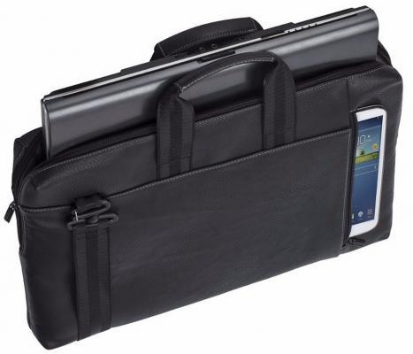 Сумка для ноутбука 15 Riva 8931 полиэстер черный сумка для ноутбука 10 riva 8010 полиэстер черный