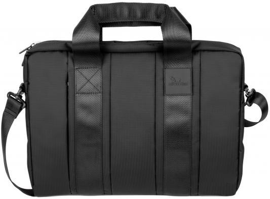 """Сумка для ноутбука 15"""" Riva 8830 полиэстер черный"""