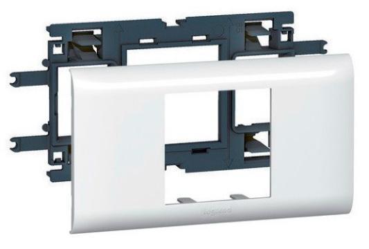 Суппорт LEGRAND 10952 Mosaic для DLP кабелелей 65мм