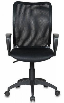 Кресло Бюрократ CH-599AXSN спинка черная сетка сиденье черный TW-11 компьютерное кресло бюрократ ch 899 tw 11