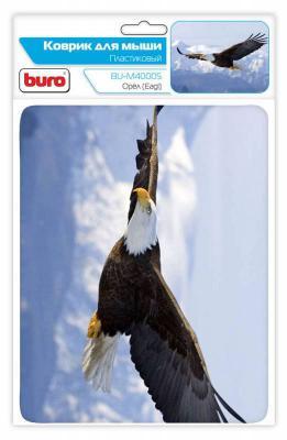 Коврик для мыши Buro BU-M40005 орел пластик