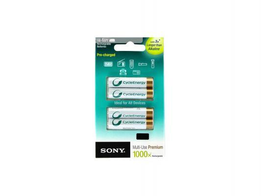 Аккумуляторы Sony HR03/AAA 800 mAh AAA 4 шт