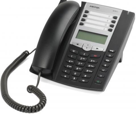 Телефон IP Aastra 6731i 6 линий LCD SIP A6731-0131-1055