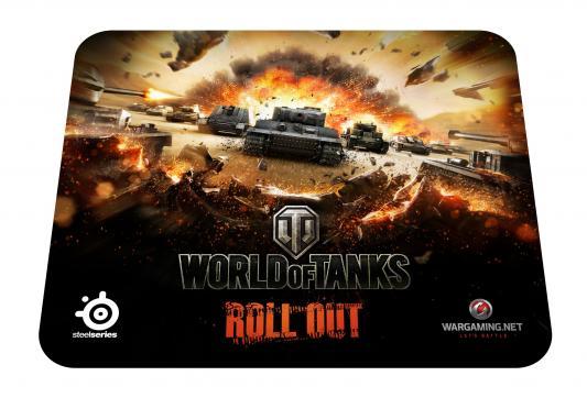 Коврик профессиональный игровой Steelseries QcK LE World of Tanks 67272