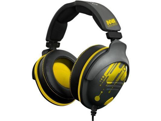 Гарнитура SteelSeries 9H NaVi Edition 0.96м черный/желтый 61103