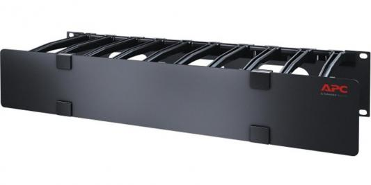 "Арматура крепежная APC Horizontal Cable Manager, 2U x 6"" Deep, Single-Sided with Cover AR8606"