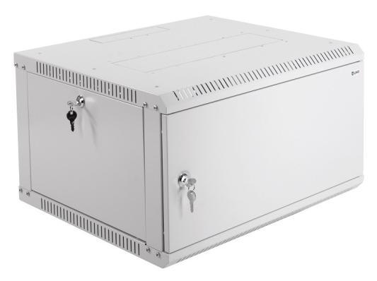 Шкаф телекоммуникационный настенный разборный 6U (600х520) дверь металл ШРН-Э-6.500.1