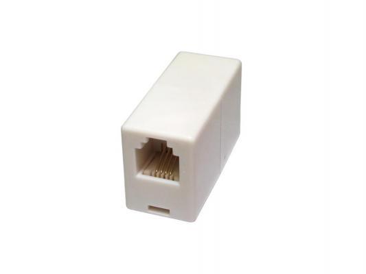 Розетка телефонная одинарная RJ11 6P4C