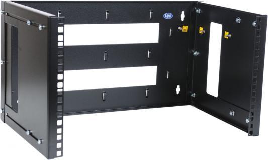 ЦМО Кронштейн телекоммуникационный КНО-М-3U-9005 настенный горизонтальный 3U регулируемая глубина 300-450 мм черный