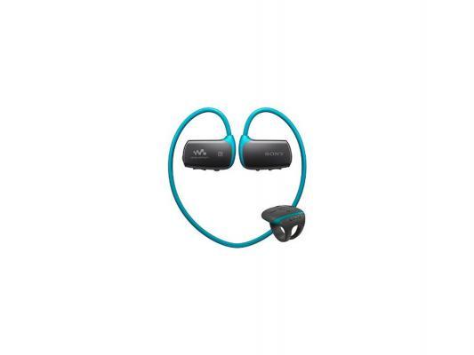 Плеер Sony NWZ-WS613 4Гб синий и наушники