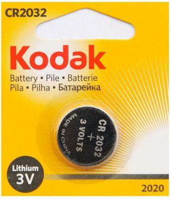 Батарейка Kodak 2020 210 mAh CR2032 1 шт kodak tablet 10 32gb yellow