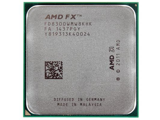 Процессор AMD FX-8300 3.3GHz Socket AM3+ OEM FD8300WMW8KHK процессор amd fx 8300 vishera am3 l3 8192kb fd8300wmw8khk