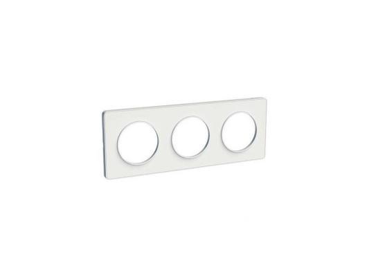 Рамка 3 пост белый ODACE / SCH-S52P806 / Рамка 3 пост белый ODACE недорого