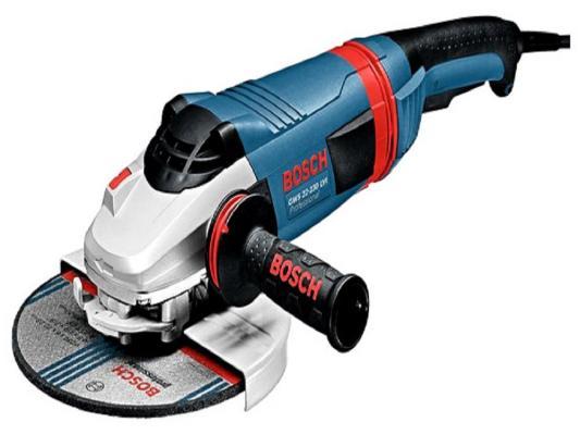 Углошлифовальная машина Bosch GWS 22-180 LVI 180 мм 2200 Вт углошлифовальная машина bosch gws 26 230 lvi 2600 вт 0601895f04