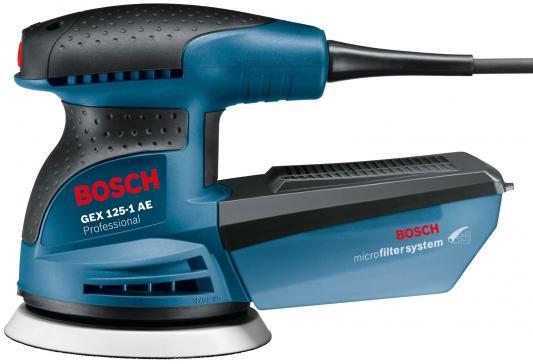 Эксцентриковая шлифмашина Bosch GEX 125-1 AE 250Вт 125мм 0601387500