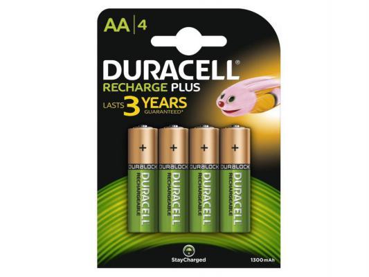 Аккумулятор Duracell HR6-2BL 1300 mAh AA 2 шт