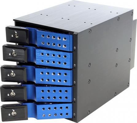 Серверный корпус Procase T3-305-SATA3-BL черный