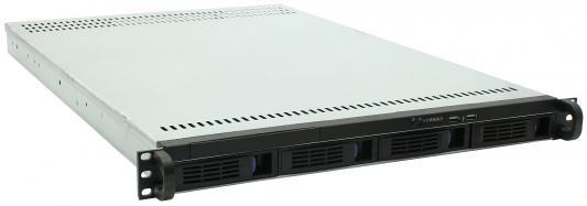 Корпус 1U Procase ES104-SATA3-B-0 Без БП чёрный