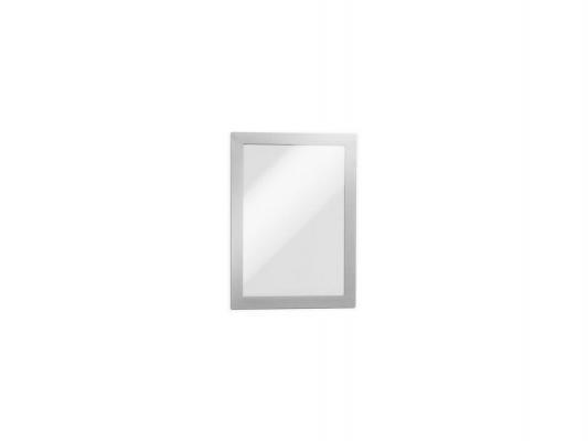 Магнитная рамка информационная Durable Magaframe настенная А5 серебристый 10шт 488123
