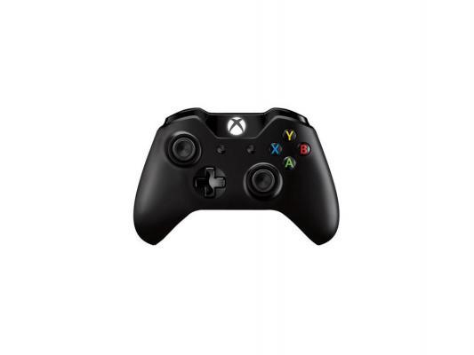 Геймпад Microsoft Xbox One 7MN-00002 черный