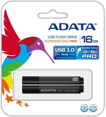 Флешка USB 16Gb A-Data S102P AS102P-16G-RGY серый