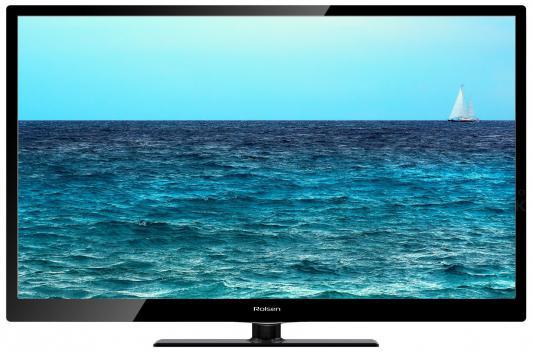 "Телевизор ЖК LED 39"" Rolsen RL-39S1502T2C 16:9 1366x768 500000:1 400кд/м2 HDMI USB DVB-T2/DVB-T/DVB-C черный"