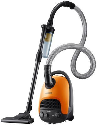 Пылесос Samsung SC20F30WE с мешком сухая уборка 2000/420Вт оранжевый