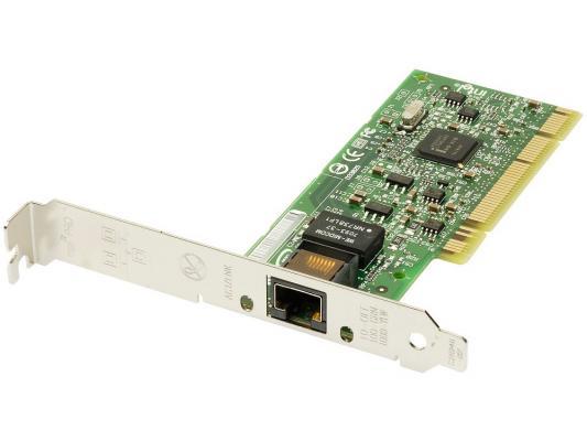 Сетевой адаптер Intel PWLA8391GT PRO/1000 GT Desktop Adapter PCI 10/100/1000Mbps OEM 5piece 100