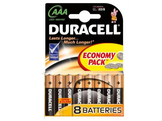 цена на Батарейки Duracell LR03-8BL AAA 8 шт