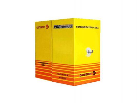 Кабель Proconnect UTP кат 5e 2 пары 24AWG 305м 01-0027
