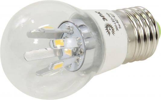 Лампа светодиодная груша Эра G45-5w-827-E27 E27 5W 2700K