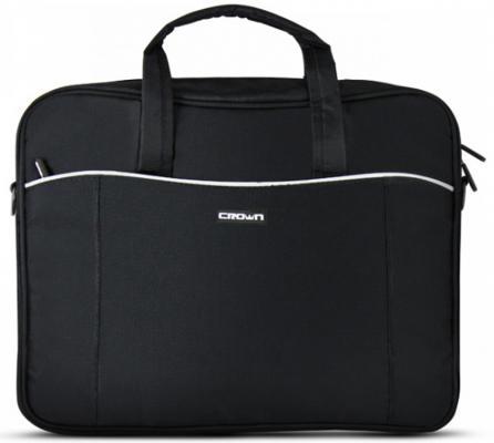 "Сумка для ноутбука 15.6"" Crown CMB-554 синтетика черный"