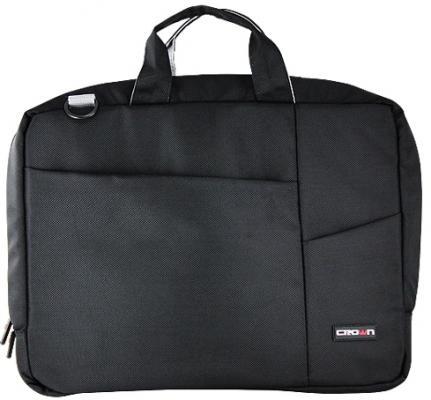 Сумка для ноутбука 15.6 Crown CMB-550 синтетика черный